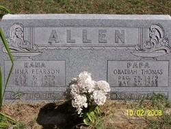 Obadiah Thomas Obie Allen