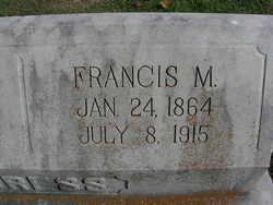 Francis Marion Cress