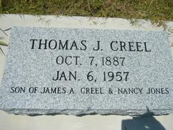 Thomas Jefferson Tom Creel