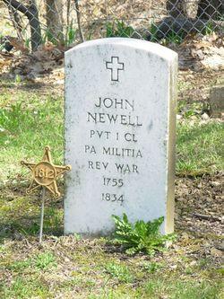 Pvt John Newell