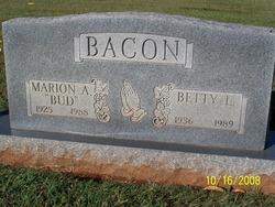 Betty Lou Ann <i>Rice</i> Bacon