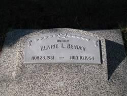 Elaine <i>Behrens</i> Bender