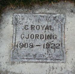 Chris Royal Gjording