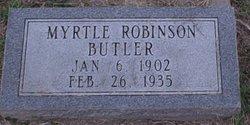 Myrtle <i>Robinson</i> Butler