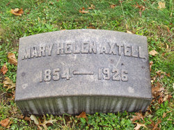 Mary Helen (Nellie) <i>Minor</i> Axtell