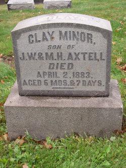 Clay Minor Axtell