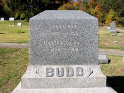 Martha D. <i>Salmon</i> Budd