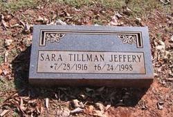 Sara <i>Tillman</i> Jeffery