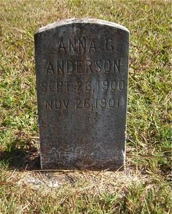 Anna G Anderson