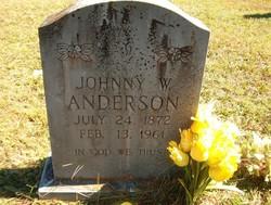 Johnny W Anderson