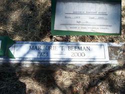 Marjorie B <i>Thatcher</i> Beeman