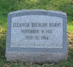 Eleanor <i>Brokaw</i> Burns