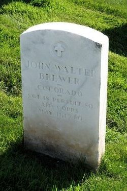 Sgt John Walter Brewer