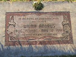 Wilma Andrus