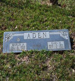 Alma <i>Eddins</i> Aden