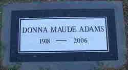 Donna Maude Adams