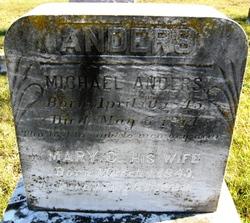Mary Catherine <i>Hardman</i> Anders