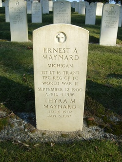 Ernest A Maynard