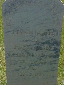 Mary Ann <i>Pollard</i> Allred