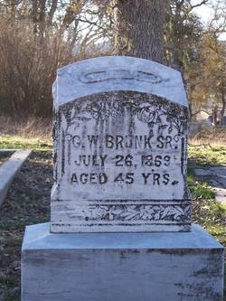 G. W. Brunk, Sr