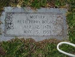 Alma Ruth Ruth <i>Perry</i> Bounds