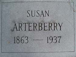 Susan Mary Mollie <i>Stone</i> Arterberry
