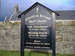 Muff Church of Ireland Graveyard