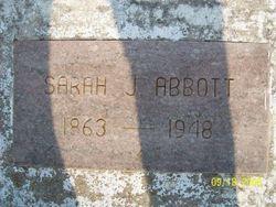 Sarah Jane <i>Moore</i> Abbott