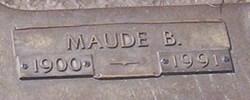 Maude Belle <i>Stapleton</i> Ruggles