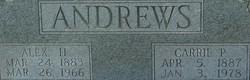 Alex H Andrews