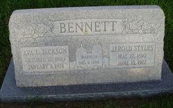 Ava L <i>Jackson</i> Bennett