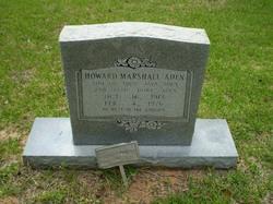 Howard Marshall Aden