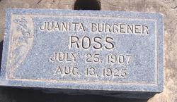 Juanita Naomi <i>Burgener</i> Ross