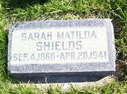 Sarah Matilda <i>Adamson</i> Shields
