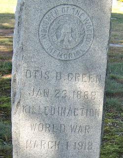 Otis D Green