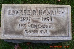 Edward R Hoadley