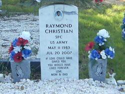 Spec Raymond Chestly Christian, II