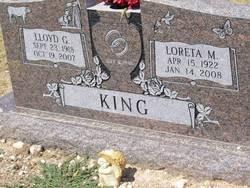 Loreta Millicent <i>Green</i> King