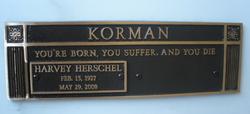 Harvey Herschel Korman
