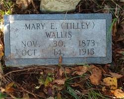 Mary Elizabeth <i>Tilley</i> Wallis