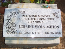 Loraine Viola Ashton