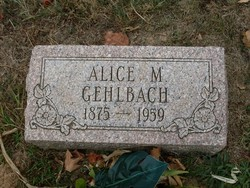 Alice M. Gehlbach