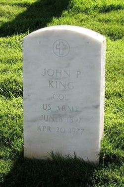 Col John Preston King
