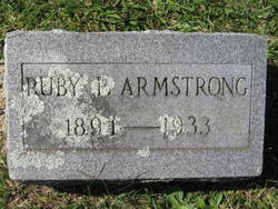 Ruby <i>Pullen</i> Armstrong