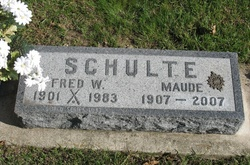 Fred William Fritz Schulte