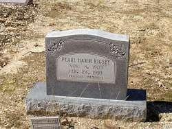 Pearl <i>Hamm</i> Rigsby