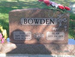 Lou <i>Lee</i> Bowden