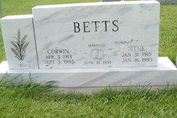 Irene Marie <i>Duncan</i> Betts
