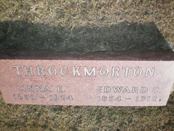 Anna E. <i>Stiff</i> Throckmorton