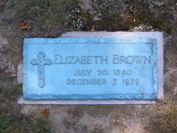 Elizabeth Theresa Lizzie <i>Werdig</i> Brown